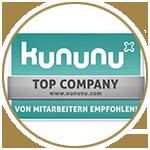 Top Company - von Mitarbeitern empfohlen