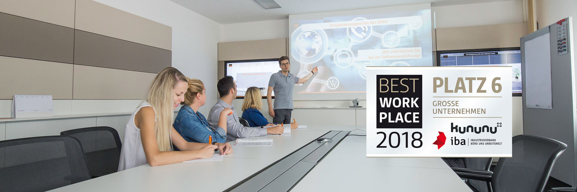 Best Workplace 2018 - BMD unter den Top 6