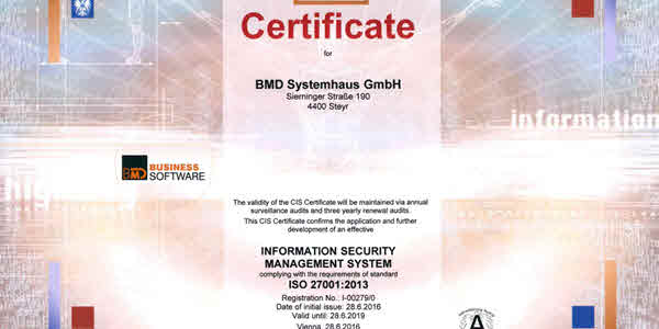 ISO 27001:2013 – Information Security Management System