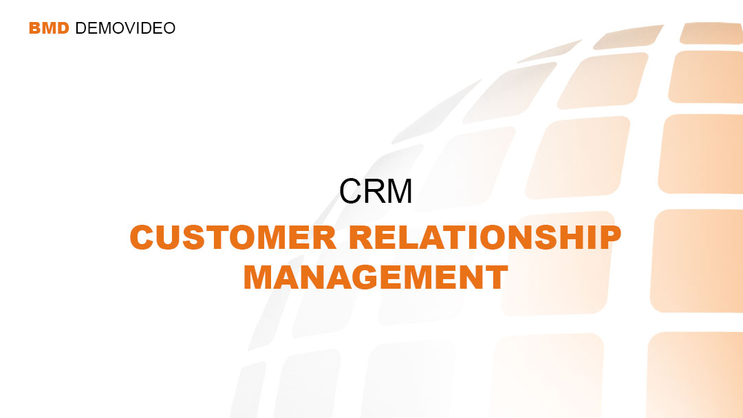 Demovideo CRM - Customer Relationship Management