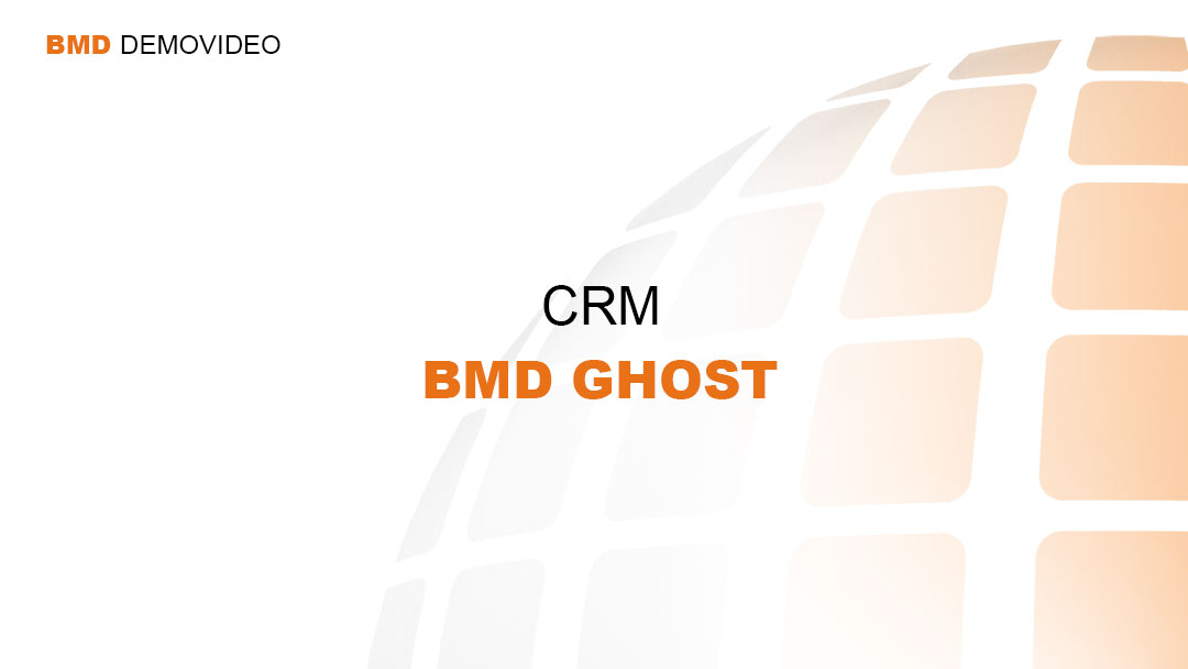 Demovideo CRM - BMD Ghost